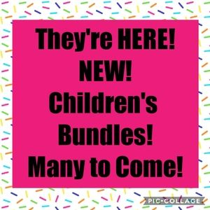 NEW Children's Clothing Bundles Are Here......